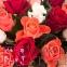 25 кольорових троянд - 3